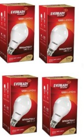 Eveready 12 W White LED Bulb (Pack of 4)