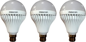 Maxcon 12W Cool White LED Bulb (Pack of 3)