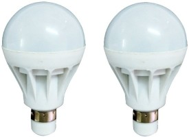 7W Luminent White LED Bulb (Pack of 2)