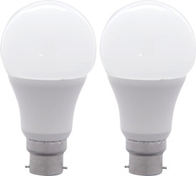 FSL 10W B22 LED Bulb (White, Set Of 2)