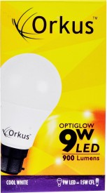 Orkus Optiglow B22 9W LED Bulb (Cool Day Light)
