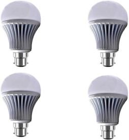 Yellowstar 12W B22 LED Bulb (White, Pack Of 4)