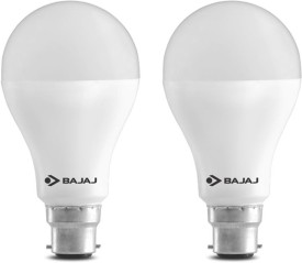 Bajaj 15 W LED CDL B22 HPF Bulb White (pack of 2)