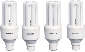 Havells 20 W 440 Lumens CFL Bulb (White, Pack of 4)