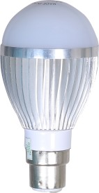Silicontek 5W Aluminium Body Warm White LED Bulb
