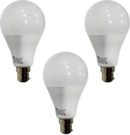 Syska 12 W B22 PAG LED Bulb (White, Pack of 3)