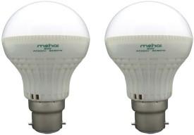 Super Bright 5W LED Bulbs (White, Pack of 2)