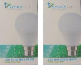 9W-White-LED-Pa-Bulbs-(Pack-Of-2)-