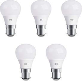 6W Cool White LED Bulbs (Pack Of 5)