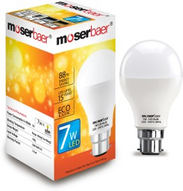 Moserbaer 7W White LED Bulb