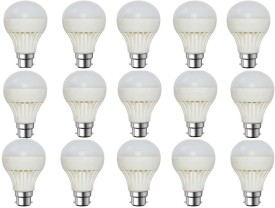 Rashmi 5W White LED Bulb (Pack of 15)