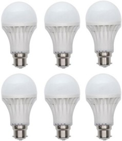 15W Cool Day Light LED Bulb (Pack of 6)