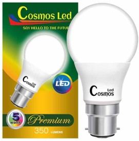 Cosmos 5 W B22 LED Bulb (White)