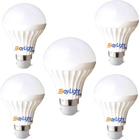 Technology 12 W LED Bulb (Cool White, Pack of 5)