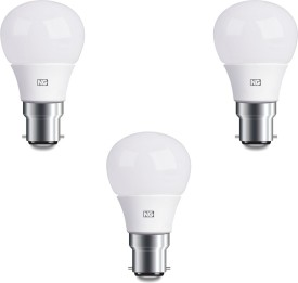 6W Cool White LED Bulbs (Pack Of 3)