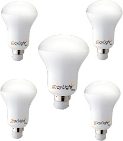 Daylight 8W B35 LED Bulb (White, Set Of 5)