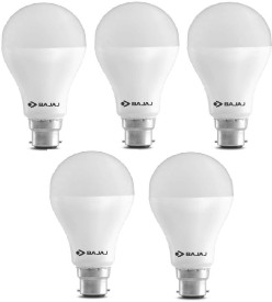 Bajaj 15 W 830068-5P LED Bulb B22 White (pack of 5)