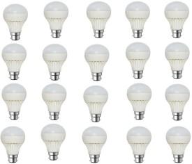 Rashmi 5W White LED Bulb (Pack of 20)