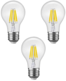 Imperial 16176 6W E27 LED Filament Bulb (White, Pack Of 3)