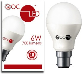 6W Crystal White LED Bulb
