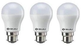 Bajaj 3 W LED 830046 Bulb B22 White (pack of 3)