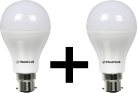 3W 240 Lumens LED Bulb (White) [Pack of 2]
