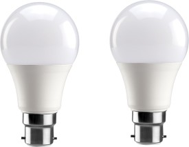 3 W B22 PA LED Bulb (White, Pack of 2)