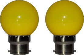 RayZun 0.5W Yellow LED Bulb (Pack of 2)