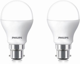 Philips 7W LED Bulbs (White, Pack of 2)