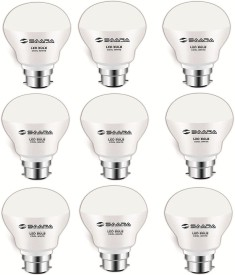 Saara 9 W 90009 LED Jayo Spiral Bulb B22 Cool White (pack of 9)