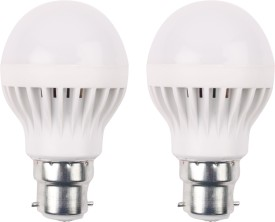 Luments 3W 460 Lumens White Eco LED Bulbs (Pack Of 2)