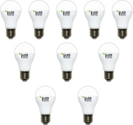 Imperial 5W-CW-E27-3612 Screw LED Bulb (White, Pack Of 10)