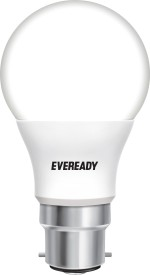 Eveready 5 W LED Cool Day Light white - Get 4 Alkaline Strip Free Bulb