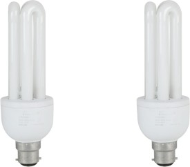 23 W CFL 3U Bulb (Pack of 2)
