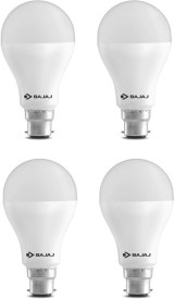 Bajaj 15 W LED CDL B22 HPF Bulb White (pack of 4)