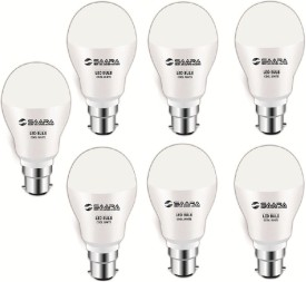 Saara 7 W 11017 LED JAYO Spiral Bulb B22 Cool White (pack of 7)