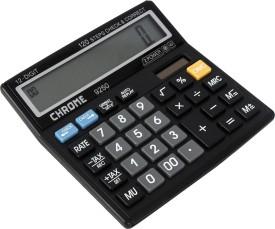 Chrome 9250 Basic Calculator (12 Digits)