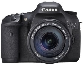 Canon EOS 7D Kit II (EF S18-135 IS) DSLR