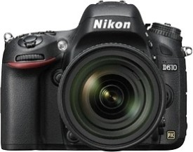 Nikon D610 SLR with AF-S 24 - 85 mm VR Kit Lens