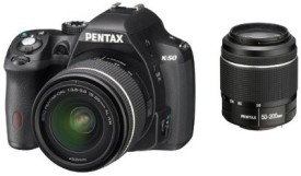 Pentax K-50 (with 18-55mm + 50-200mm Lens Kit)