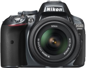Nikon D5300 DSLR (with 18-55 VR Kit Lens)