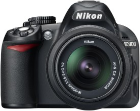 Nikon D3100 SLR with AF-S 18-55mm VR Kit Lens