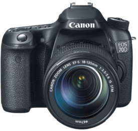 Canon EOS 70D DSLR (With EF-S 18-135 IS STM Lens)
