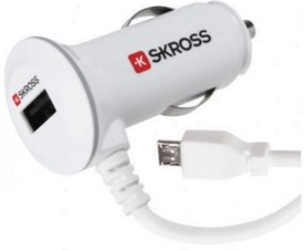 Skross Midget Plus With Lightining Car Charger
