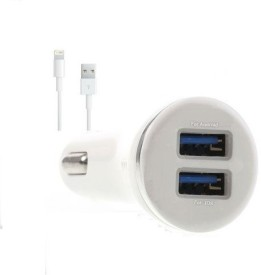 Edge Plus 2.1A Dual USB Port Car Charger (For iPhone 6, 6+)