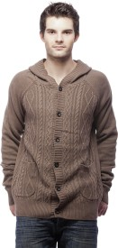 Nana Judy Men's Button Woven Cardigan
