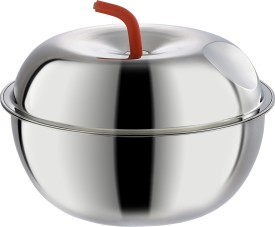 NanoNine Apple Stainless Steel Insulated Casserole