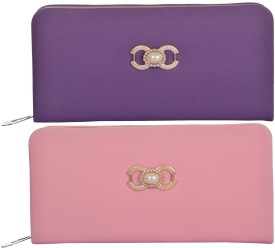 Yazlyn Collection Casual Multicolor Fabric Clutch