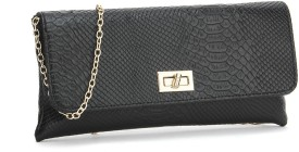 Carlton London Women Black Clutch