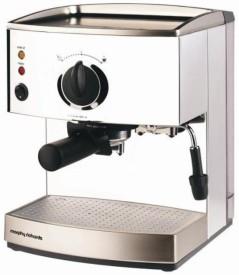 Morphy Richards Roma Pump Espresso CM 1000 Watts SS Coffee Maker